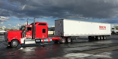 US Western State Truck Freight and Logistics 12